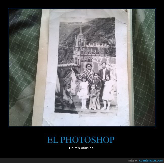 abuelos,fotografía,montajes