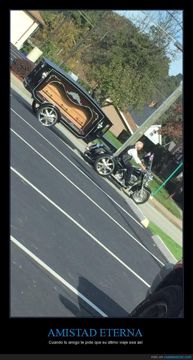 funeral,motociclista,muerte,respeto