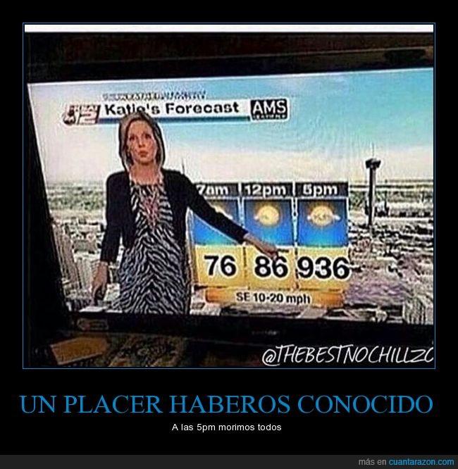 calor,grados,reportera,temperatura,tiempo,tv