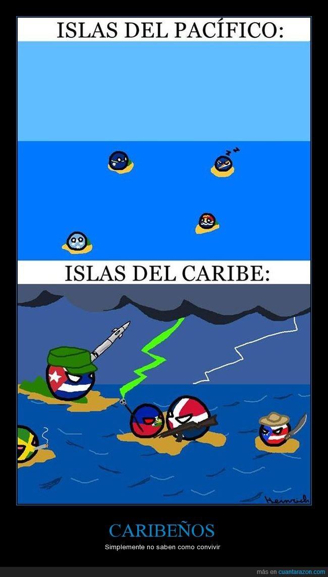 Cuba,Haití,Jamaica,Puerto Rico,República Dominica