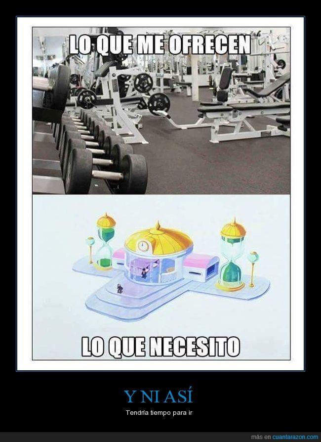 dragon ball,gimnasio,sala del tiempo