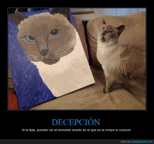 cojín,gato,pintura