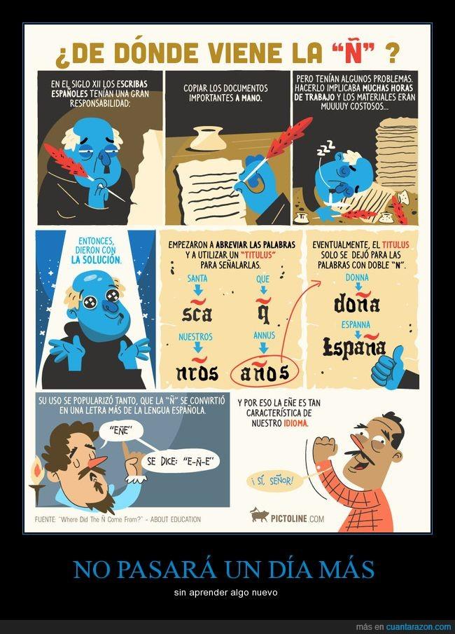 caricatura,cómic,dibujos,historia,humor,letra,ñ