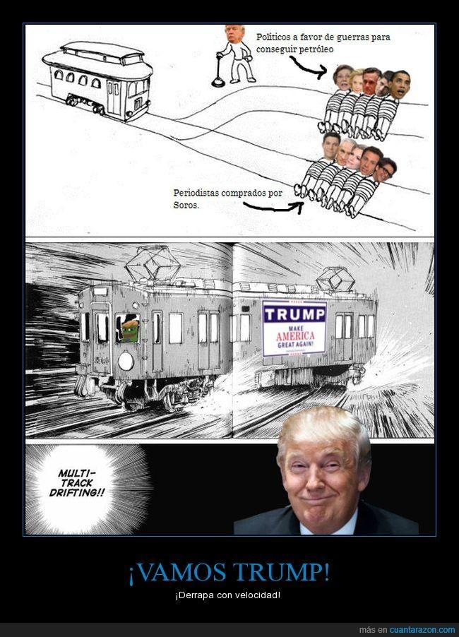 política,trenes,trump,USA