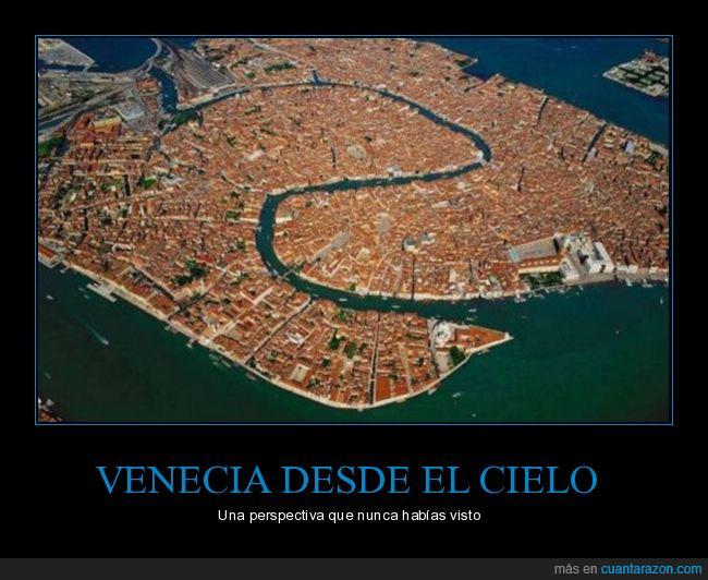 aéreo,fotografía,Venecia