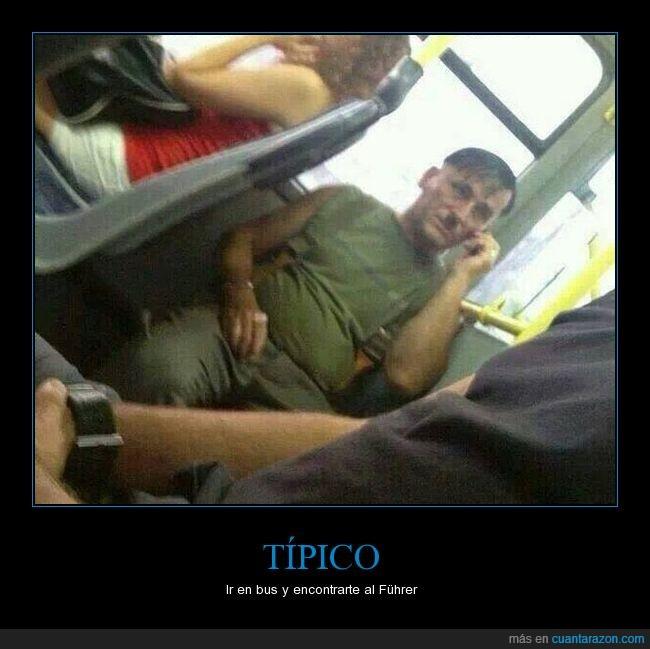 bus,fuhrer,hitler,humor,parecido,razonable