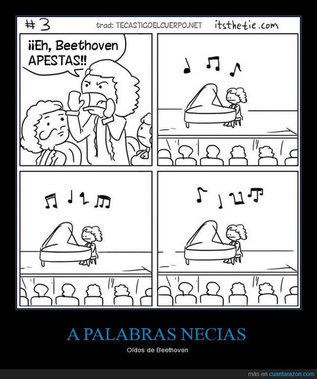 Beethoven,insultos,sordo