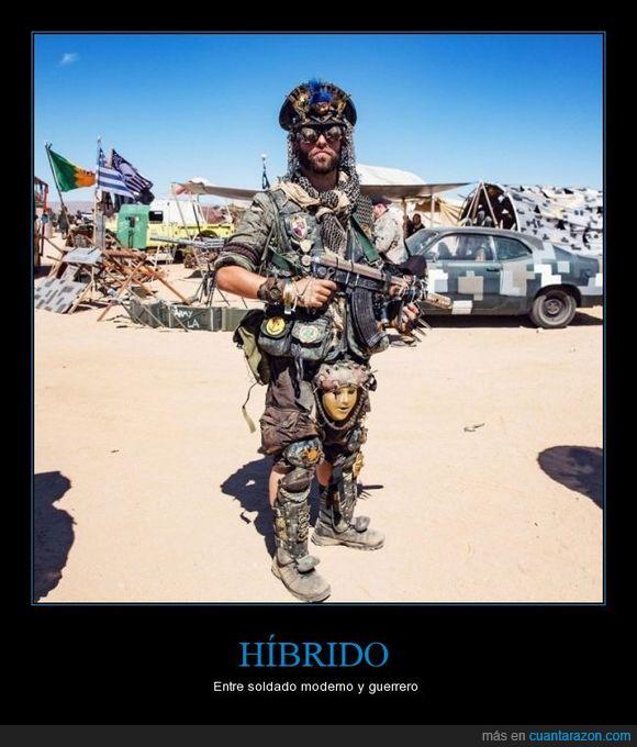 atuendo,guerrero,Soldado
