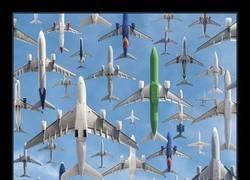 Enlace a 15 Fotos increíbles del tráfico aéreo mundial que costó 2 años realizar