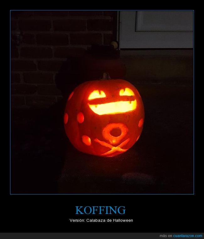 calabaza,halloween,Koffing