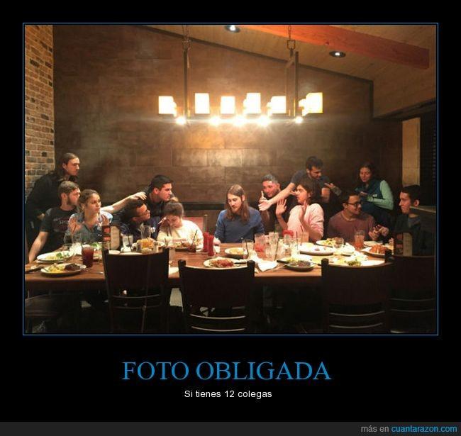 amigos,última cena
