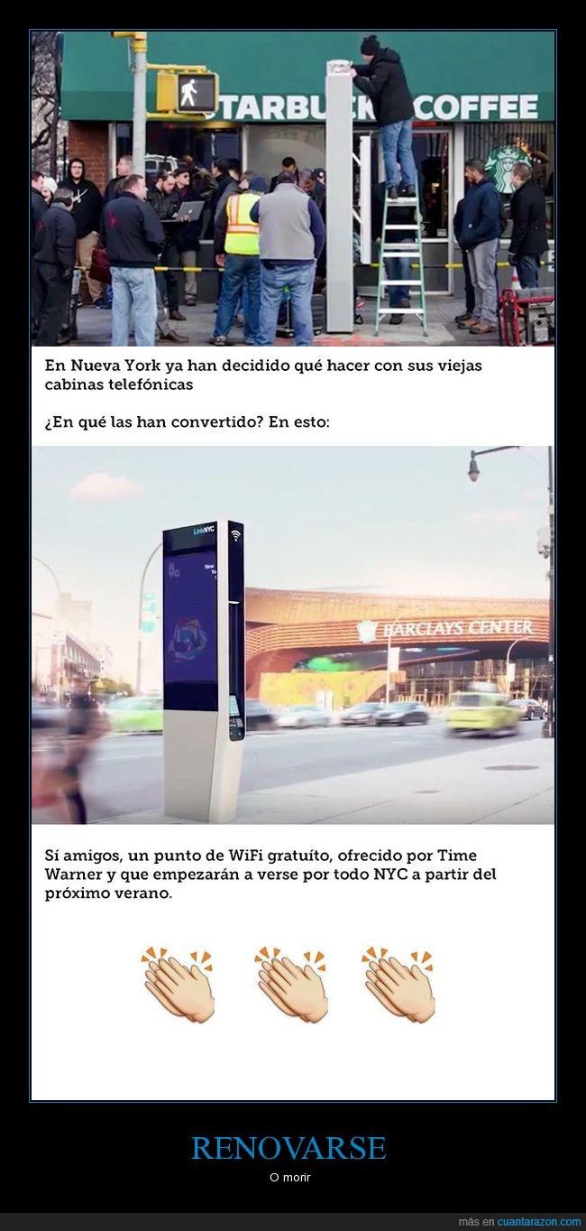 cabina telefónica,wifi