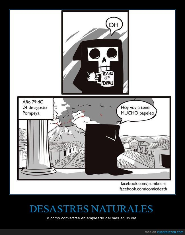 comic,desastre natural,mi nombre es muerte,muerte,pompeya,servilleta