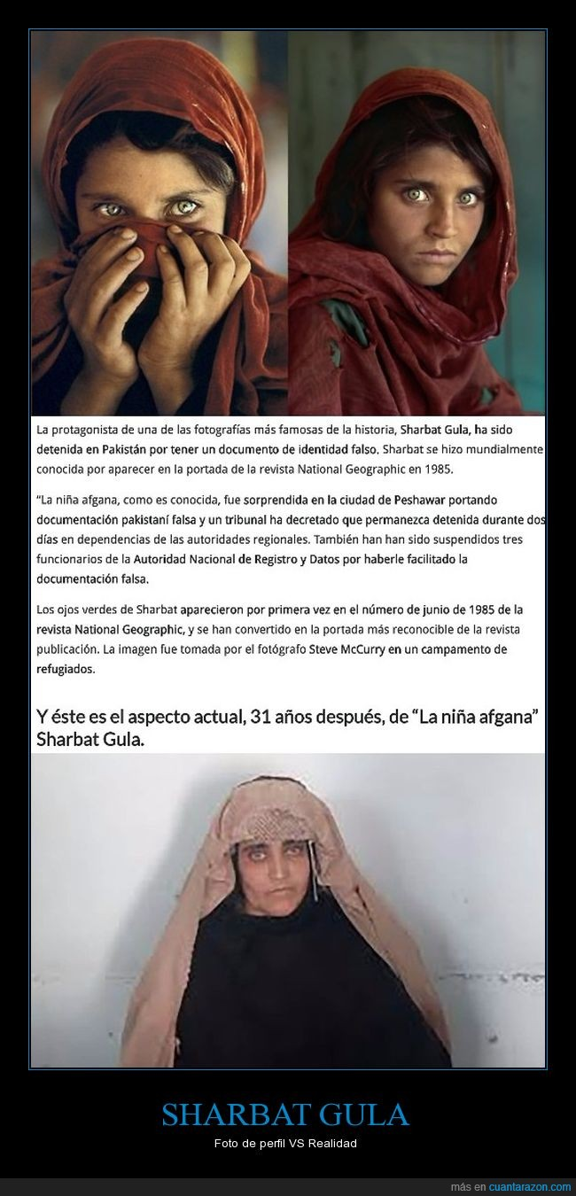 afgana,documento dni,falso,niña,sharbat gula