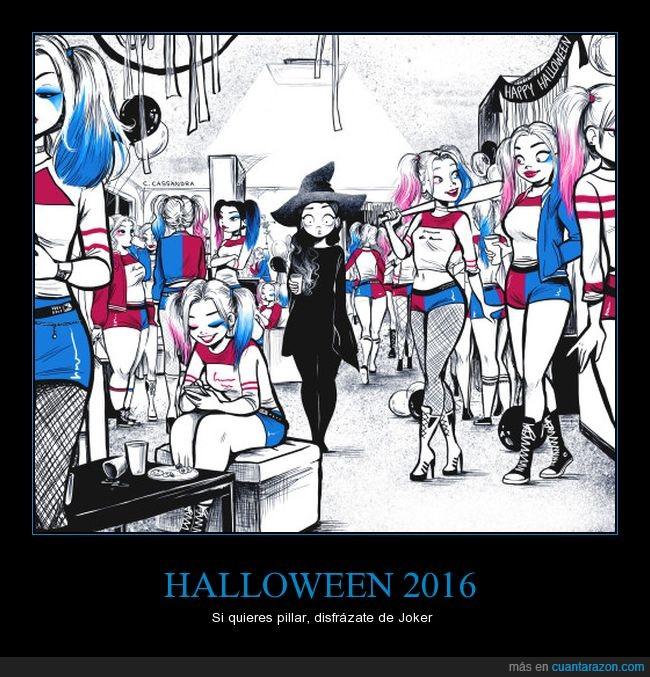 halloween,harley queen,joker,previsible