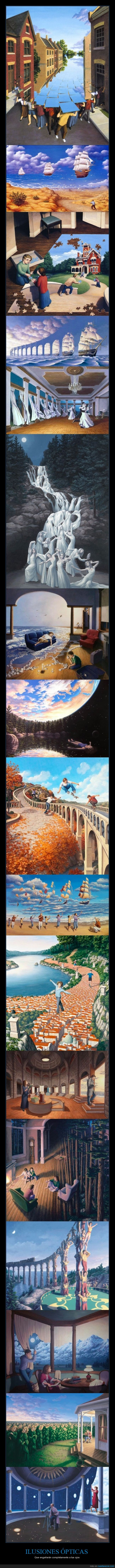 ilusion optica,rob gonsalves