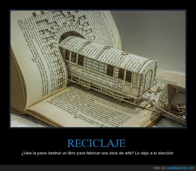 hojas,letras,libro,tren
