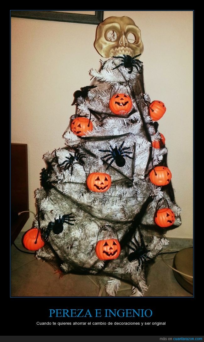 árbol,halloween,navidad