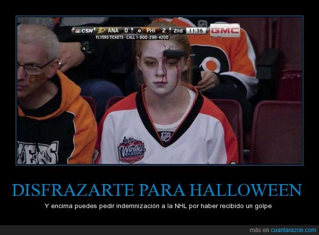 disfraz,halloween,hockey,NHL
