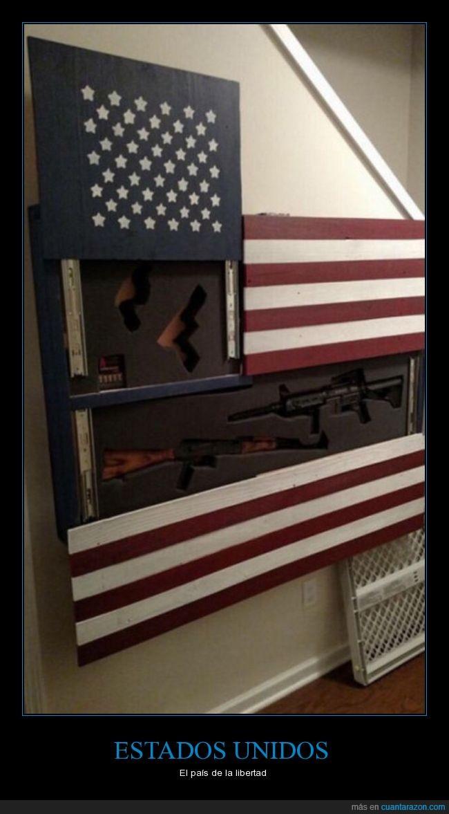armas,bandera,eeuu,pistolas,usa