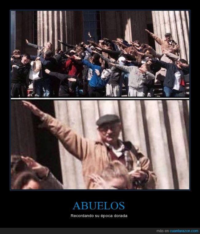 abuelo,dab,humor,nazi,saludo