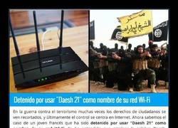 Enlace a Adolescente detenido por poner a su wifi un nombre sospechoso relacionado con el ISIS