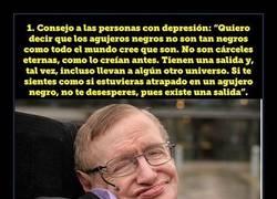 Enlace a 12 reflexiones de Stephen Hawking que te dejarán pensando todo el día
