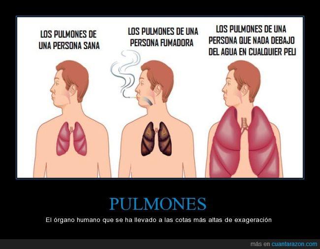 actor,bajo agua,fumador,pulmón