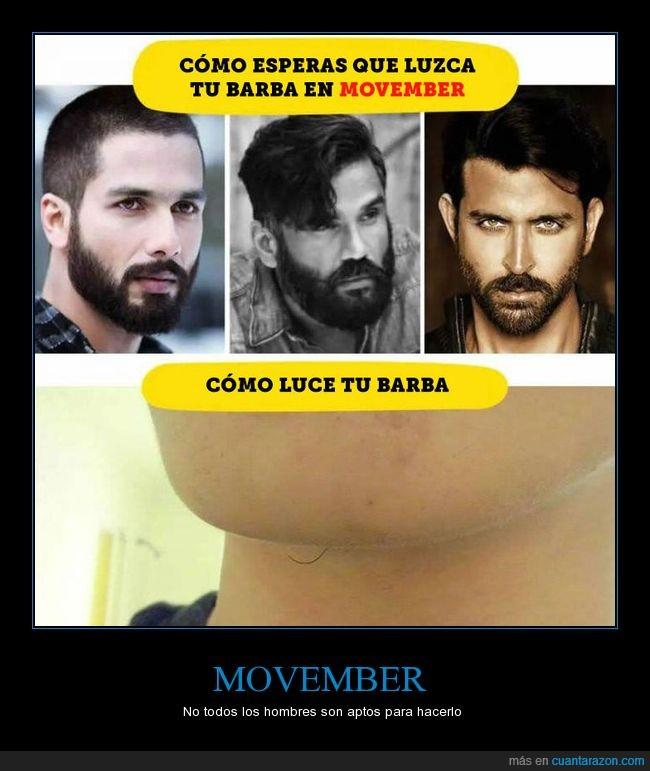 barba,bigote,movember,vello facial