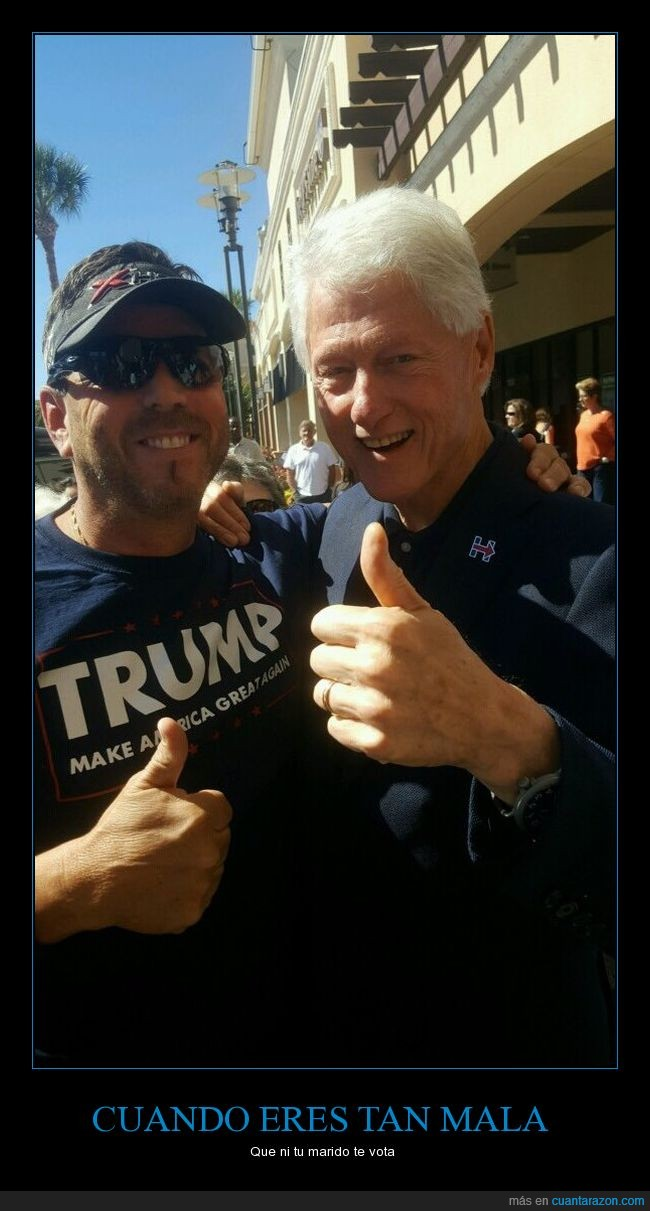 bill Clinton,donald trump,usa