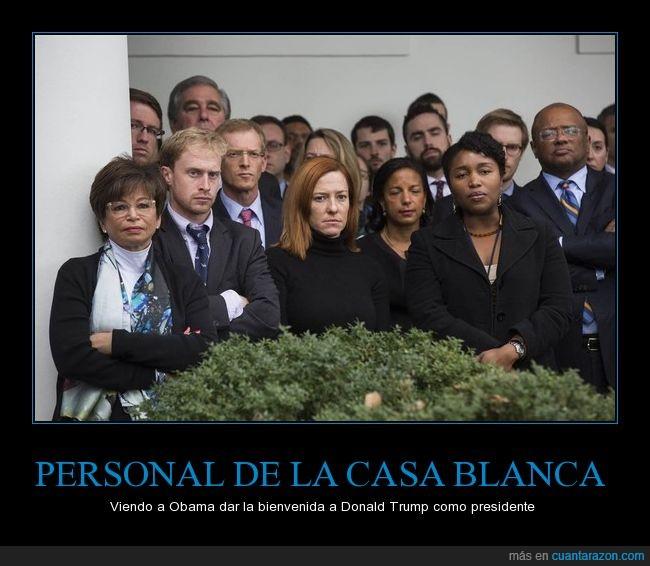 bienvenida,casa blanca,Obama,presidente Trump