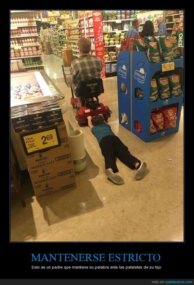 arrastrar,berrinche,niño,supermercado