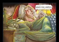 Enlace a 15 Dibujantes de todo el mundo ilustran cómo se sienten con Trump como presidente