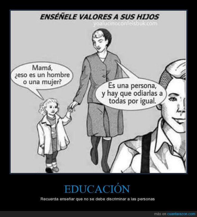 educación,niña,no a la discriminación,odiar