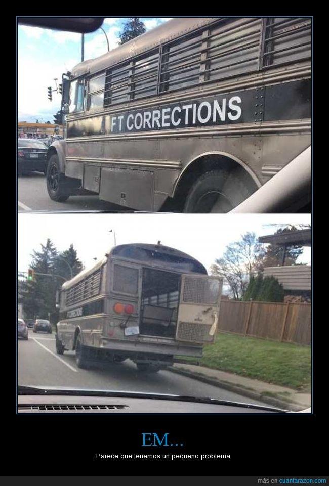bus,correcional,fail,fuga,presos,reos