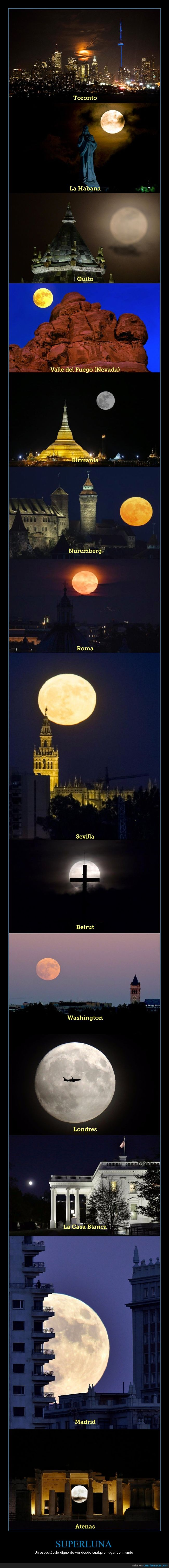 fotos,luna,mundo,superluna