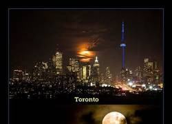 Enlace a Así se ha visto la espectacular superluna desde diferentes partes del mundo