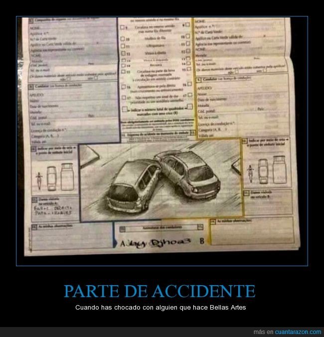 accidente,bellas artes,coches,dibujo