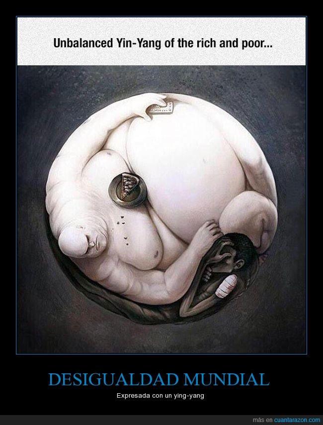 pobres,ricos,ying yang