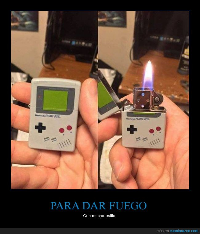encendedor,Gameboy,mechero