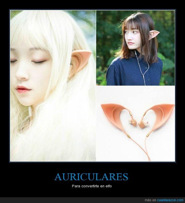 audífonos,auriculares,elfo,orejas,puntiagudas