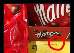 Enlace a Maltesers también ha hecho un cambio en sus chocolatinas que te hará cabrear