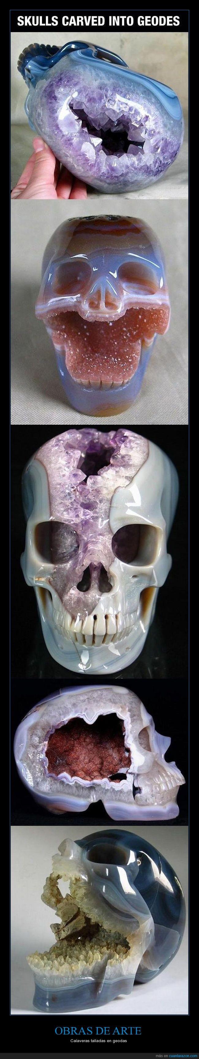 arte,cráneo,geoda
