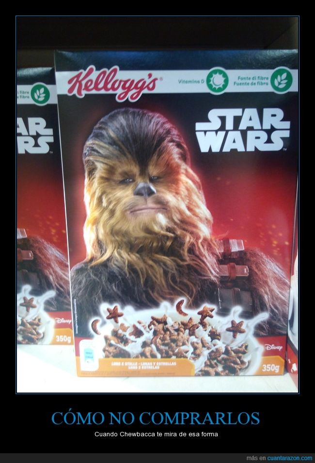 cereales.,Eroski,Kellogs,Star Wars