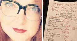 Enlace a Una chica lesbiana paga la cena de una familia homófoba por amor y les deja este mensaje
