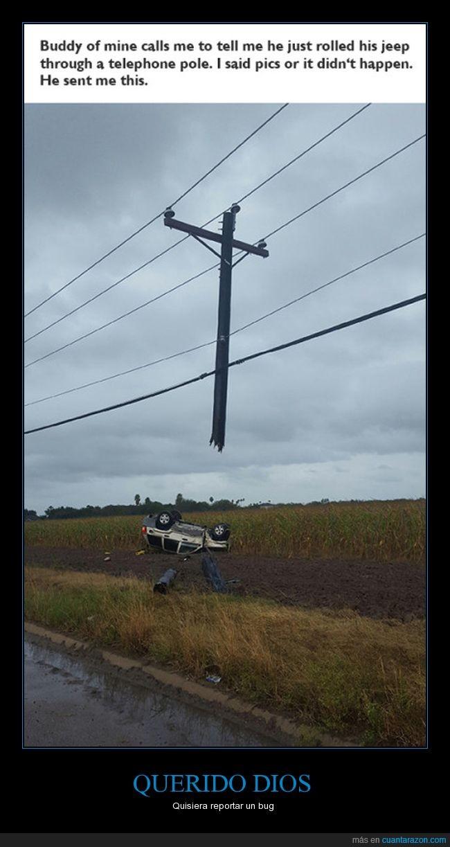 bug,dios,electricidad,líneas de alta tensión,poste