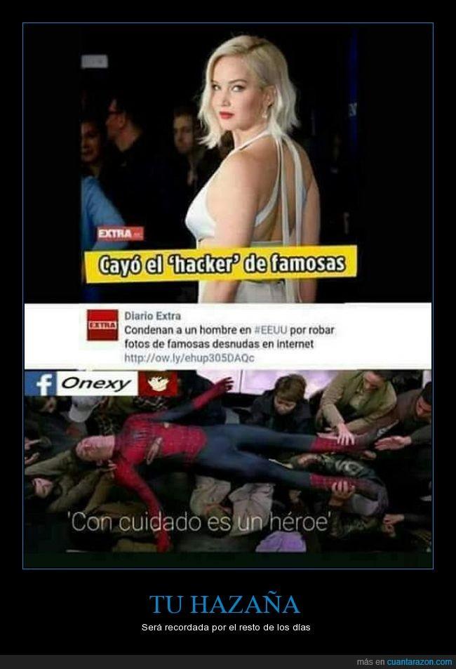 detención,famosas desnudas,hacker,Jennifer Lawrence