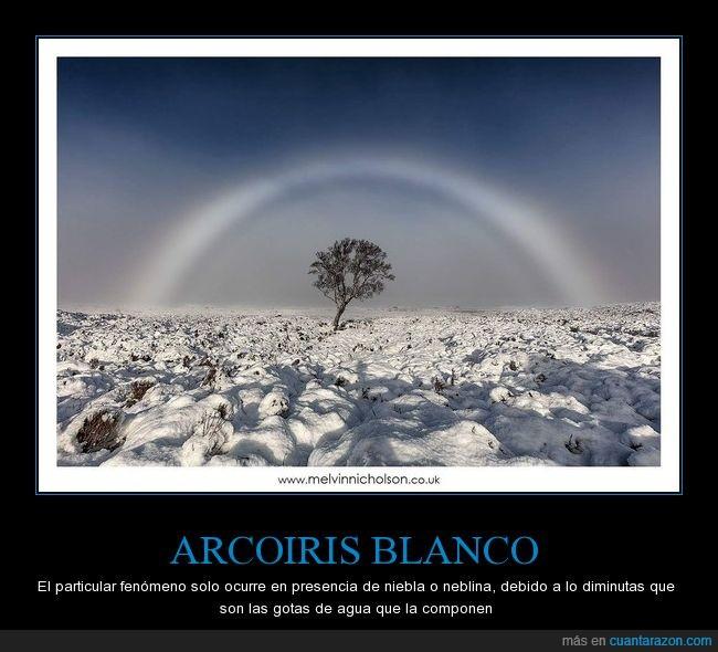 arcoiris blanco,escocia,espectacular