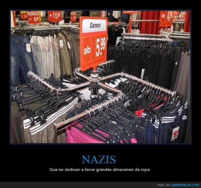 almacen,esvástica,fail,fial,hitler,humor,nazi,ropa