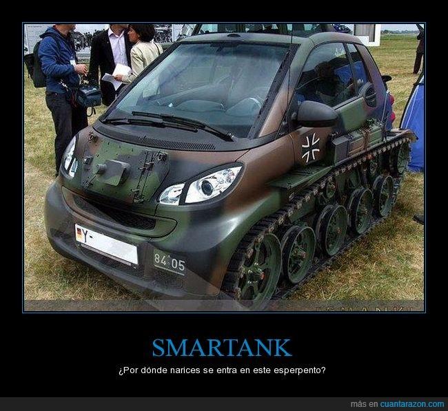 coche,Smart,Smartank,tanque